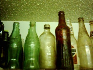Assorted soda bottles2 008